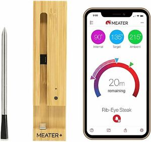 MEATER Plus | 165ft Long Range Smart Wireless Meat Thermometer for The Oven Gril
