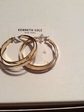 $30 Kenneth Cole Double Hoop Rose Gold Earrings 124C
