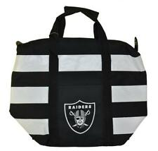 "Nfl Oakland Raiders Striped Freeze Tote 16"" W"