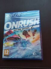 ONRUSH Day One Edition PS4 Brand New Factory Sealed