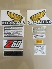 VINTAGE Honda Z50 Z50j 1978-82  DECAL KIT GAS FUEL TANK Monkey Mini Trail