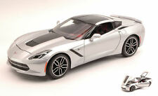 Chevrolet Corvette Stingray Z51 2014 Silver Exclusive Series 1:18 Model MAISTO