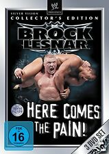 WWE Brock Lesnar Here Comes The Pain Collector's Edition 3er [DVD] NEU