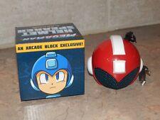 New Nerd Arcade Block Exclusive Mega Man Helmet Speaker Rare Red USB Capcom