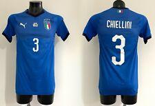 Chiellini Italia maglia NATIONS LEAGUE match worn issued shirt JUVENTUS SIGNED