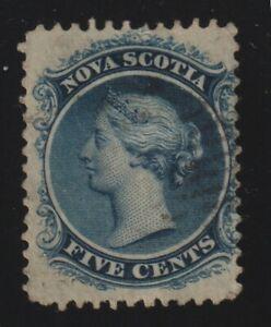 Canada - Nova Scotia 1860-63 #10c Queen Victoria - VG Used