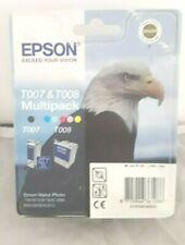 EPSON  T007 T008 MULTIPACK INK CARTRIDGE ORIGINAL PACKAGING EXP 2011