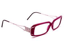 Versace Eyeglasses MOD. 3043-B 448 Pink Rectangular Frame 51[]16 130 Crystals