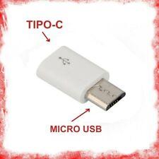 ADATTATORE DA TYPE C TIPO 3.1 FEMMINA A MICRO USB MASCHIO CONVERTITORE X CAVI ec