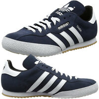Mens Adidas Originals Samba Trainers Super Suede Casual Leather Shoes Size