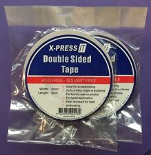 2 rolls of 6mm Double Sided Tape, X-Press IT brand