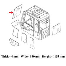 4602562 Front Upper Cab Glass Windshield fits John Deere 330C LC 450C 600C 800C