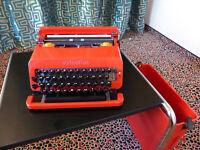 Olivetti Valentine, Design-Klassiker aus den Jahren 1969 bis 2000, exzelenter