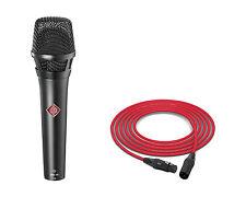 Neumann KMS 105 | Matte Black | Handheld Supercardioid Condenser Microphone