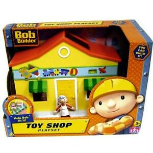 Bob the Builder Toy Shop Playset & Mrs Toosey Figure