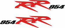 Honda CBR 954 RR Rear Fairing Decal Set 2002-06