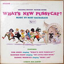 WHAT'S NEW PUSSYCAT?-NM1965LP STEREO BACHARACH/TOM JONES/MANFRED MANN/DIONNE