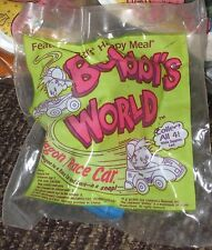 1993 Bobby's World Blue Car McDonalds Happy Meal Toy