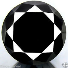 1.51ct WOW HUGE RARE 100% NATURAL JET BLACK DIAMOND CERTIFIABLE REAL DIAMOND~NR!