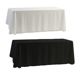 Table Cloth Wedding Church Desk Cover Birthday Party Dust Tablecloth #S04
