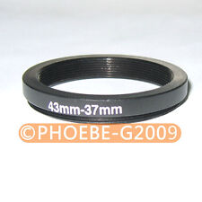 43mm to 37mm 43-37 mm Step Down Filter Ring  Adapter