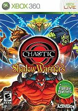 Chaotic: Shadow Warriors (Microsoft Xbox 360, 2009) Complete