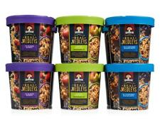 Quaker Real Medleys Oatmeal Variety Pack Convenient Single Serve 12 Cups - 12/18