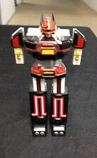 """Original 1984 Bandai """"Bioman"""" Godaikin 6"""" robot die-cast popy Exc no fists"""