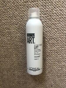 L'Oreal Professional Tecni Art Volume Root Lift Spray Mousse 250ml Free Post