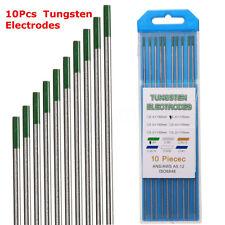 10PCS WP Green Tip Welding Tungsten Electrode Welding Electrodes 2.4x175mm