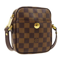 LOUIS VUITTON RIFT CROSS BODY SHOULDER BAG SR1005 PURSE DAMIER N60009 AK45203