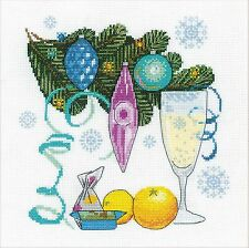 RIOLIS  1597  Happy New Year  Broderie  Point de croix  Compté