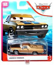 Disney Pixar Cars 3 Cotter Pin Andrew Vrooman 1:55 Scale Diecast Vehicle IN HAND