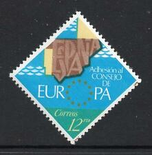 SPAIN MNH 1978 SG2524 Admission to the European Council