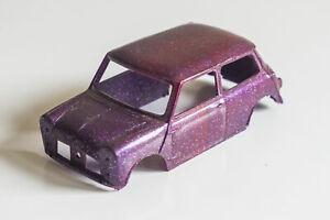 New Airfix/MRRC Austin/Morris Mini Cooper 1:32 Slot Car Body Shell Glitter