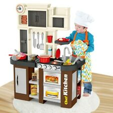 Kitchen Play Set Pretend Baker Kids Toy Cooking Playset Child Food Little Bakers