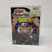 Naruto: Clash of Ninja Revolution Nintendo Wii Game Complete With Manual Tested