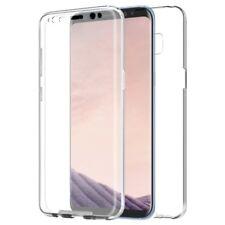 Samsung Galaxy S8 360 Grad Hülle Handyhülle Full Cover Silikon Case Transparent