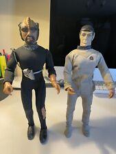 More details for vintage mego star trek, 1977 klingon & mr spock