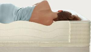 "PlushBeds Organic Latex Full Bed Mattress - ""Botanical Bliss"" Adjustable Layers"