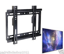"PDR*SUPPORTO STAFFA PARETE TV LCD PLASMA DA 14"" A 42"" POLLICI ATTACC0 VESA 25 KG"