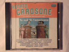 RENATO CAROSONE feat. GEGE' DI GIACOMO Tu vuo' fa' l'americano cd RARO VERY RARE
