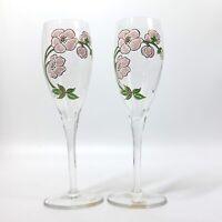 Perrier Jouet Belle Epoque Flutes Champagne Glasses France