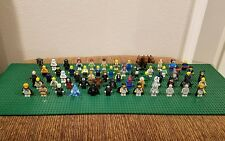 HUGE LEGO MINIFIGURE LOT STAR WARS / HARRY POTTER / MARVEL / DC / LOTR