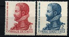 Chile 1972 SG#685-6, 400th Anniv Of LA Araucana MNH Set #D37600