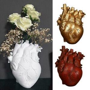 Nordic Style Heart Shape Flower Planter-hanging Vase-glass Decor AU Home I2O3