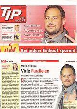"""Moritz Bleibtreu """"Sammlung"""" von Presseberichten und Artikeln..."""