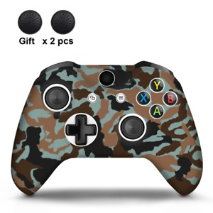 18 Colors Camo Silicone Cover Xbox One X S Wireless Gaming Controller Gamepad