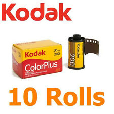 10 Rolls x KODAK Color Plus 36exp 200 ASA ISO ColorPlus 35mm 135 Film FRESH