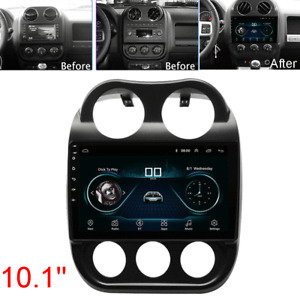 "10.1"" For 10-16 Jeep Patriot Compass Android 10.1 Radio Stereo GPS Head Unit 16G"